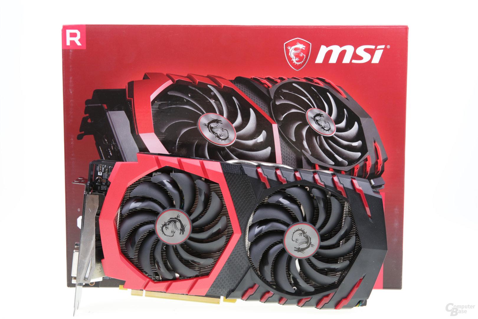 MSI Radeon RX 580 Gaming X