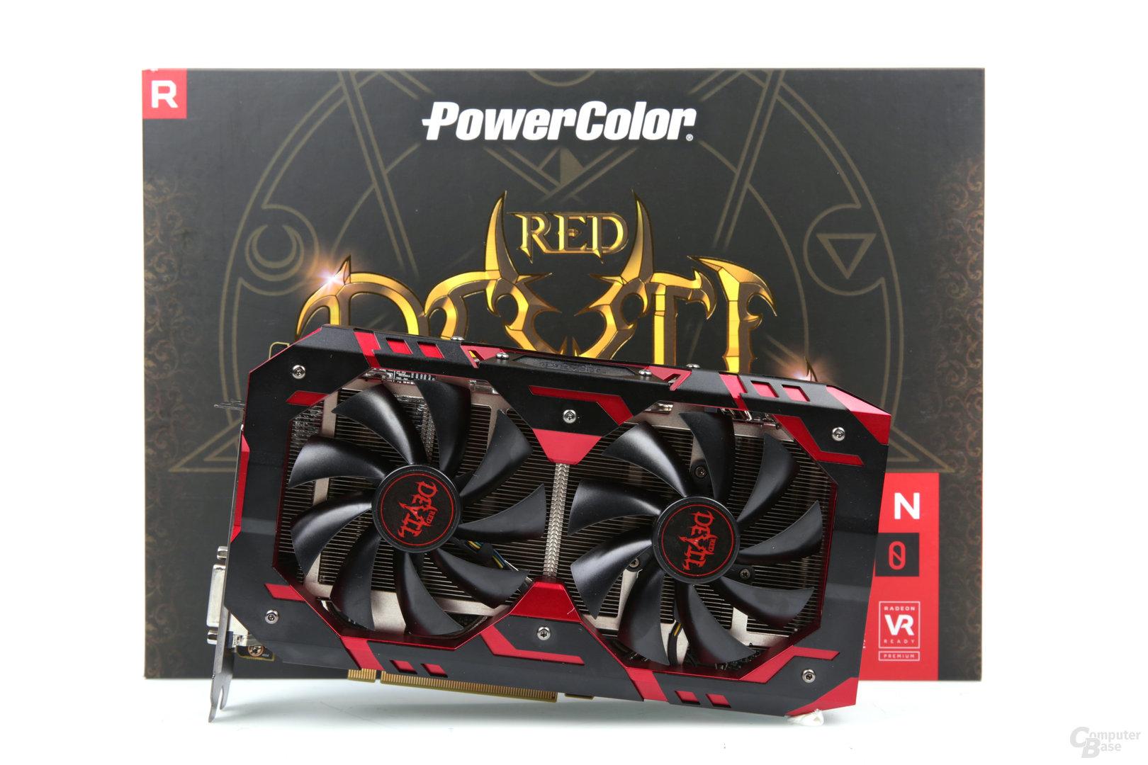 PowerColor Radeon RX 580 Red Devil Golden Sample