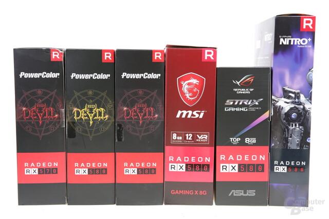 AMD Radeon RX 580 und RX 570 im Test