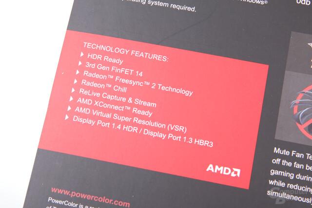 """PowerColor spricht von """"3. Generation 14-nm-FinFET"""""""