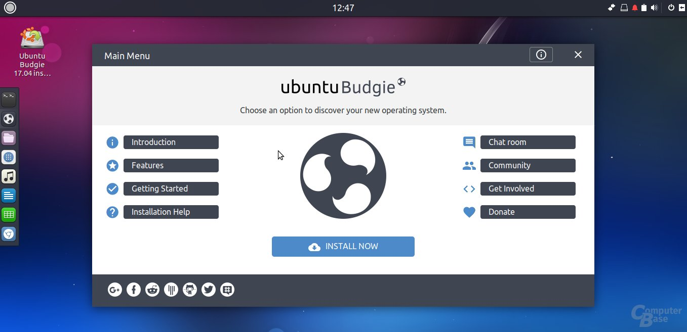 Ubuntu Budgie 17.04