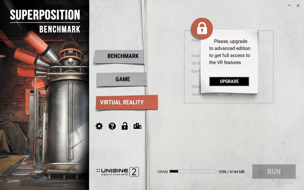 Die vollen VR-Funktionen gibt es nur in der Pro-Version