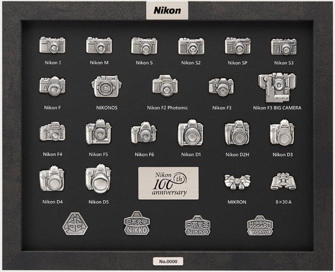 Nikon 100th Jubiläumsnadeln