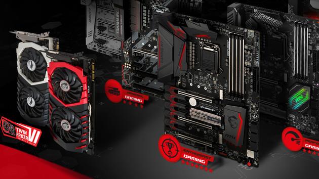 Aktion: Bis zu 100 Euro Cashback für Mainboard und GPU von MSI