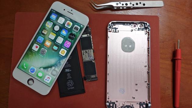Smartphone im Eigenbau: iPhone 6s aus Ersatzteilen für 300 US-Dollar gebaut