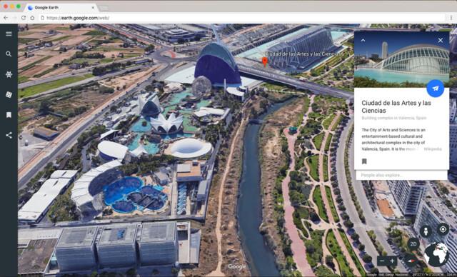 Google stattet Earth mit neuen Funktionen aus