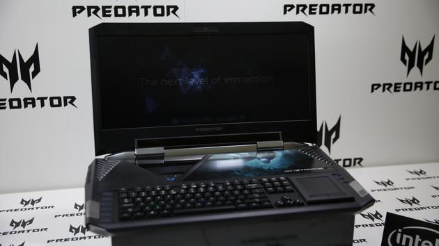 Jetzt verfügbar: Acer Predator 21 X für 9.999Euro erhältlich
