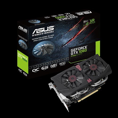 Asus GeForce GTX 1060 OC-Edition 9 Gbps
