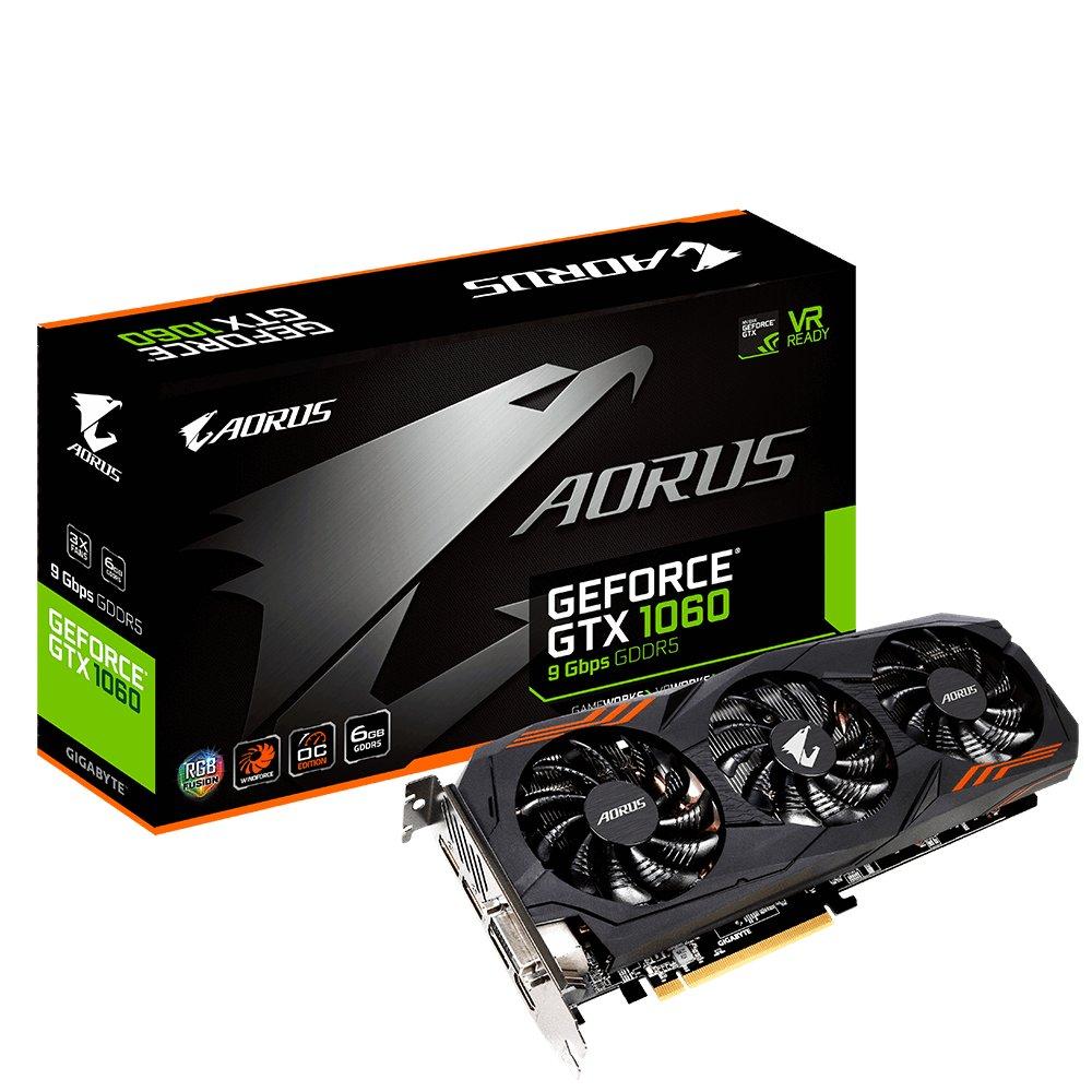 Gigabyte Aorus GeForce GTX 1060 9 Gbps