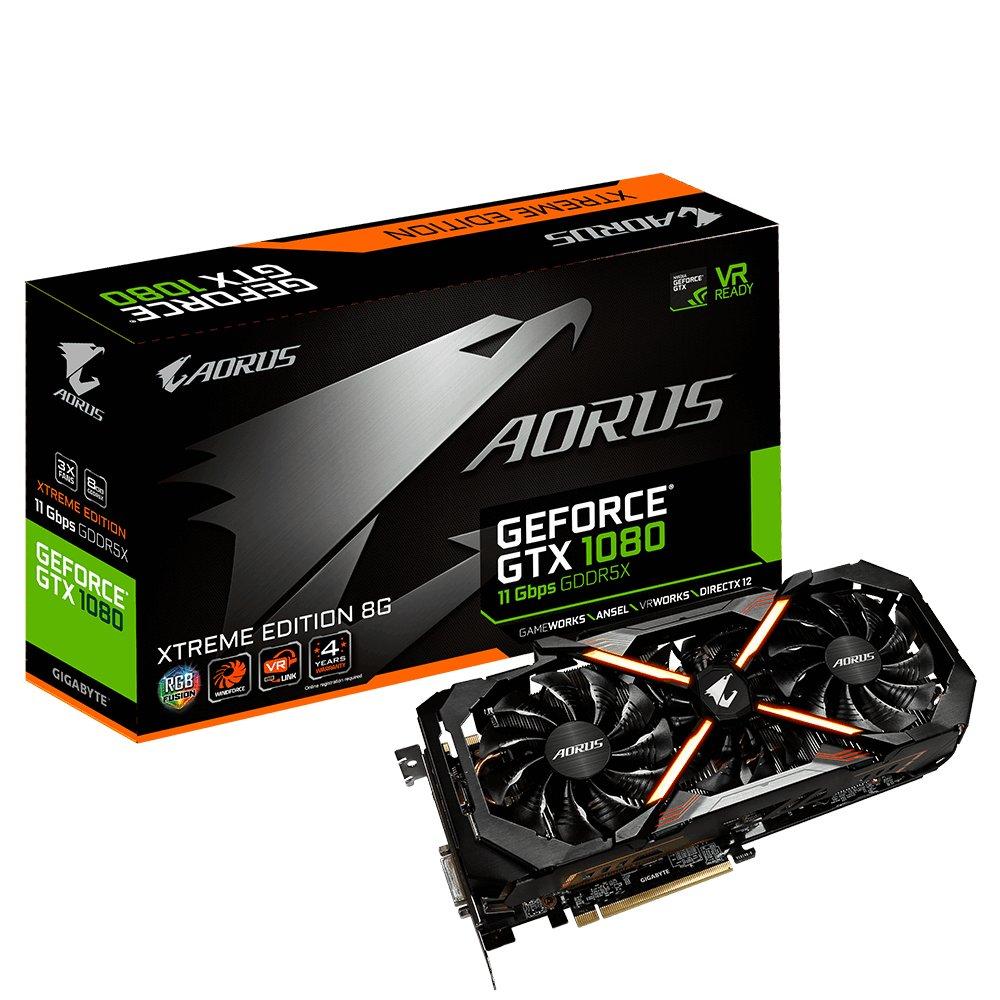 Gigabyte Aorus GeForce GTX 1089 11 Gbps
