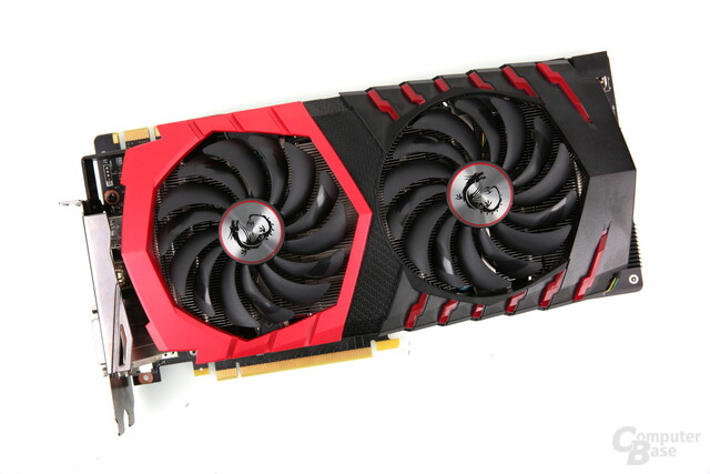 MSI GeForce GTX 1080 Gaming X+ 8G in der Redaktion