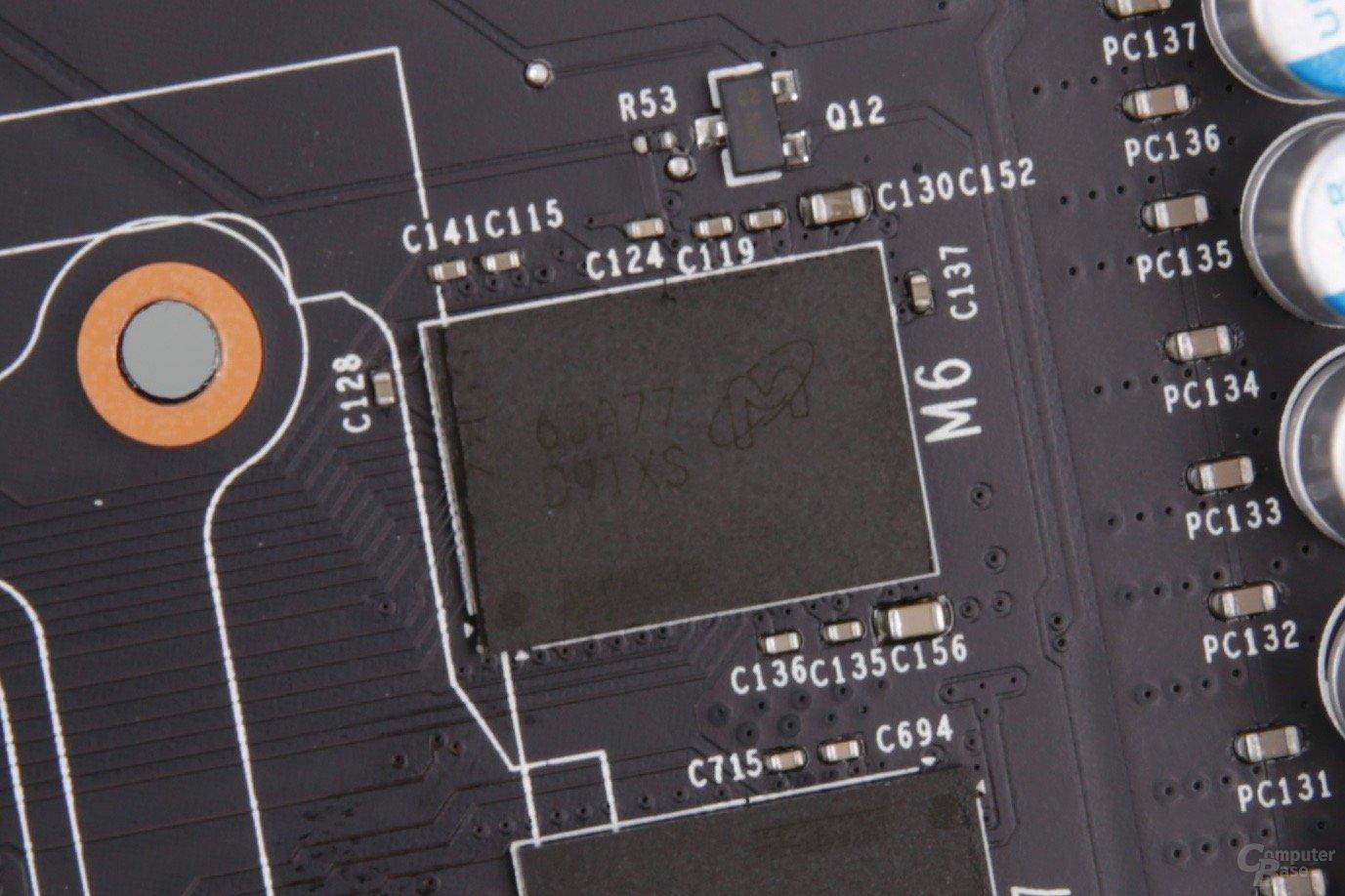Micron 6JA77 D9TXS auf der herkömmlichen