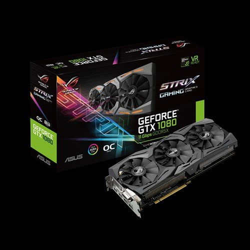 Asus GeForce GTX 1080 Strix OC-Edition 11 Gbps