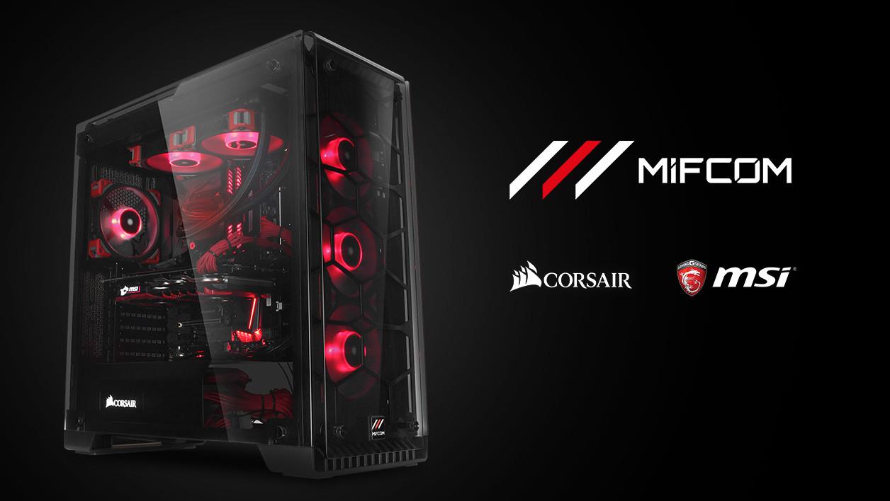 Erinnerung: Gaming-PC von MIFCOM, Corsair und MSI zu gewinnen