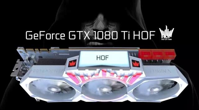 Galax GTX 1080 Ti HOF mit LCD