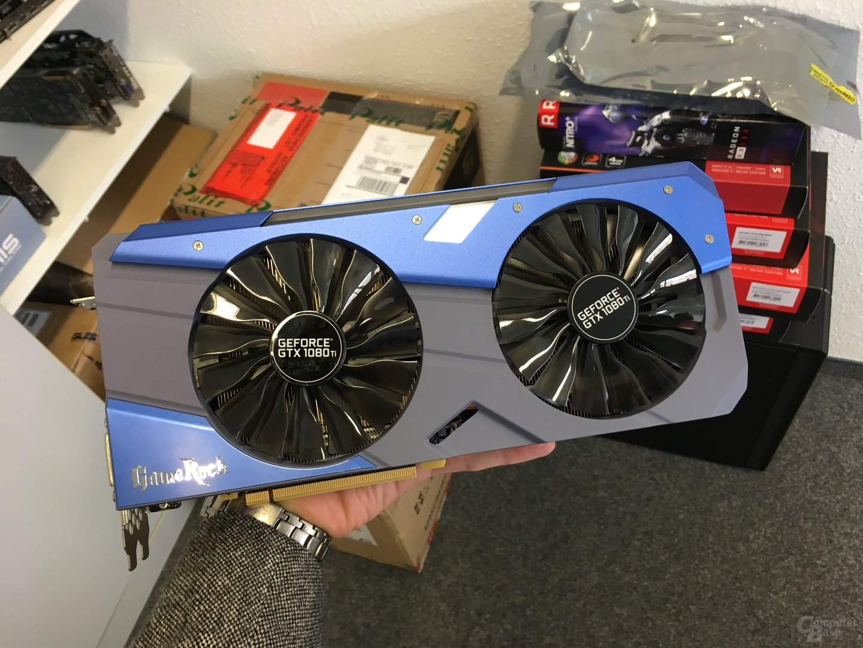 Die Palit GeForce GTX 1080 Ti GameRock Premium Edition