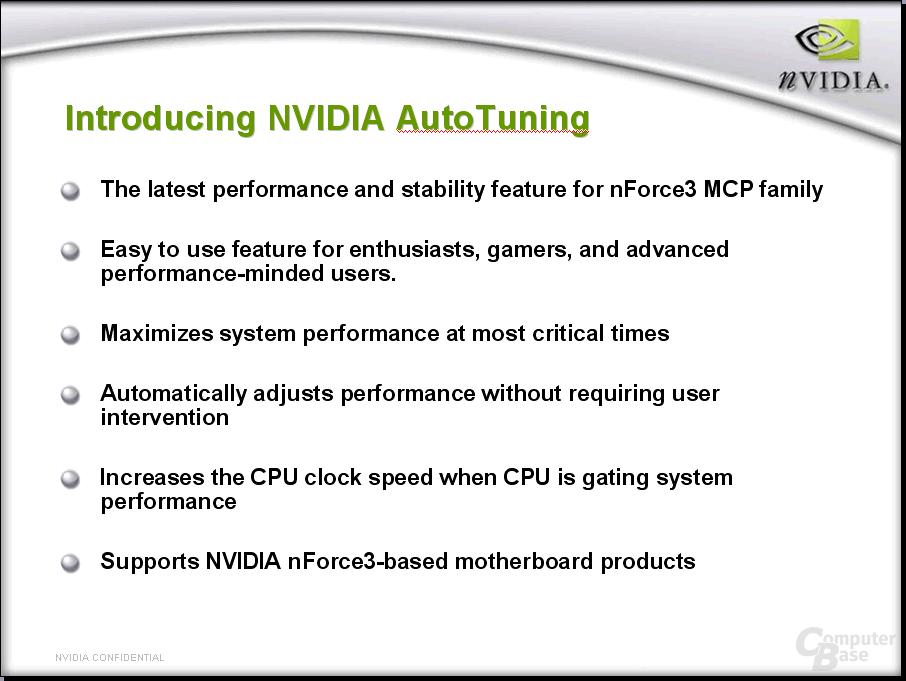 nVidia Auto Tuning