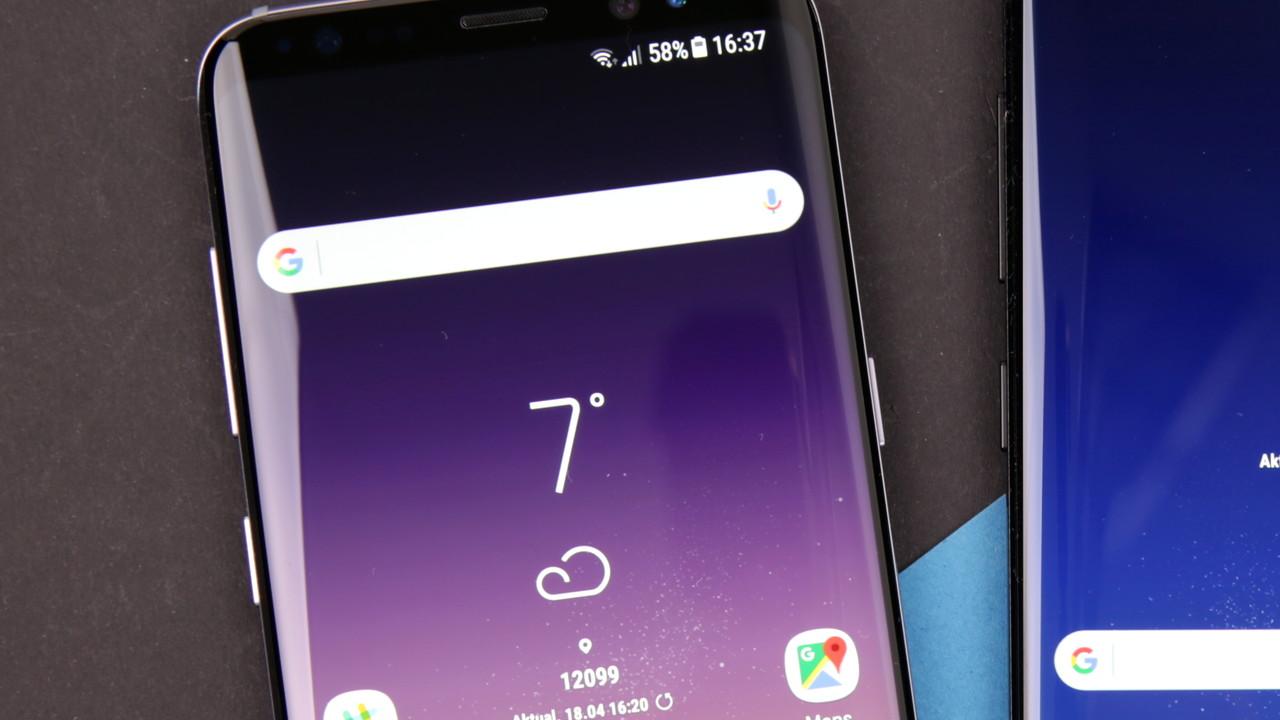 Samsung Galaxy S8 & S8+: Update gegen Rotstich auf dem Display