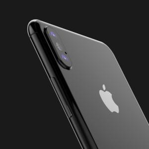 iPhone 8: Apple-Dummy mit Glasrückseite und Edelstahlrahmen