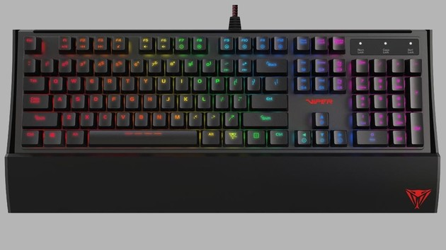 Patriot Viper V760: Erste mechanische Tastatur des Speicherherstellers