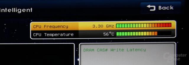 CPU-Temperatur im BIOS