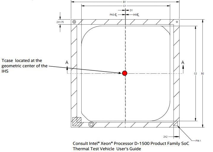 Tcase wird während der Konstruktion eines Computers gemessen und ist für Privatanwender nicht aussagekräftig.