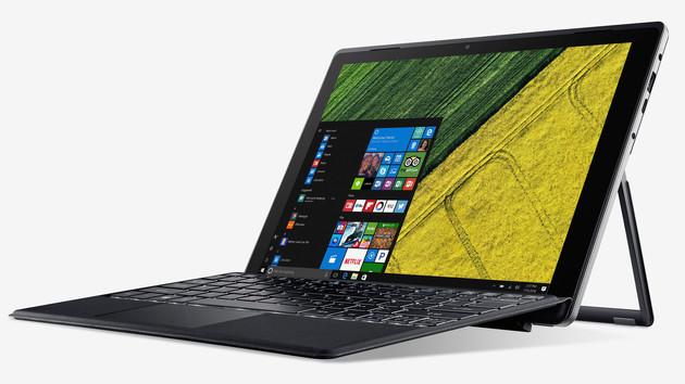 Lüfterloses 2-in-1: Acer Switch 5 kommt mit 15-Watt-CPU, Tastatur und Stylus