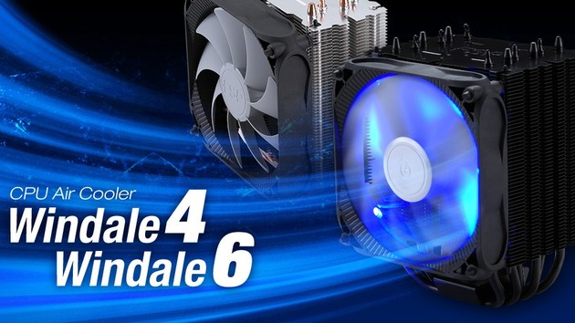 FSP Windale 4 & Windale 6: Netzteil-Hersteller zeigt erste CPU-Kühler