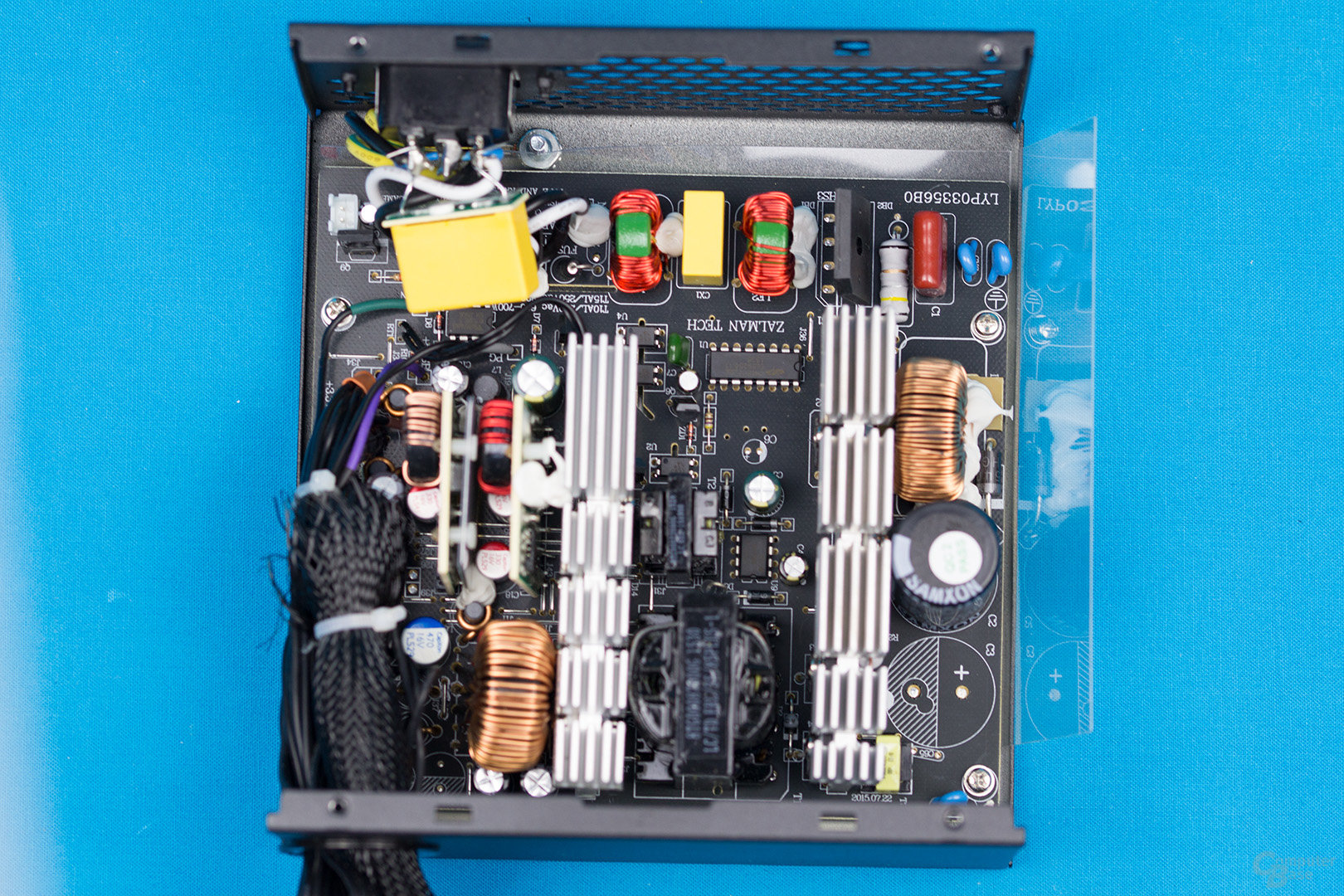 Zalman ZM500-TX – Überblick Elektronik