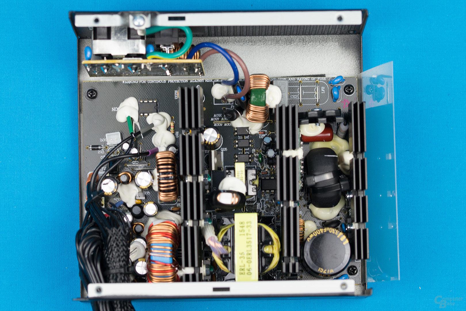 XFX XT500 (erste Revision) – Überblick Elektronik