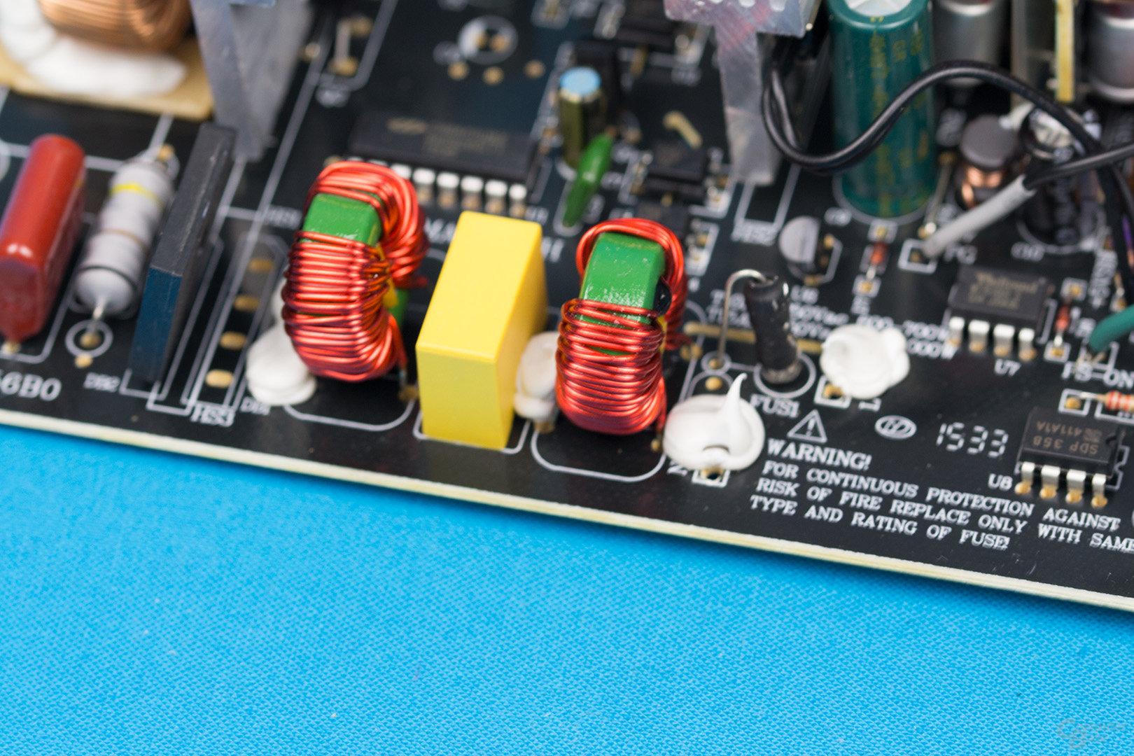 Zalman ZM500-TX – Eingangsfilter