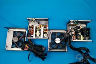 XFX XT500 (erste Revision rechts, zweite Revision links)