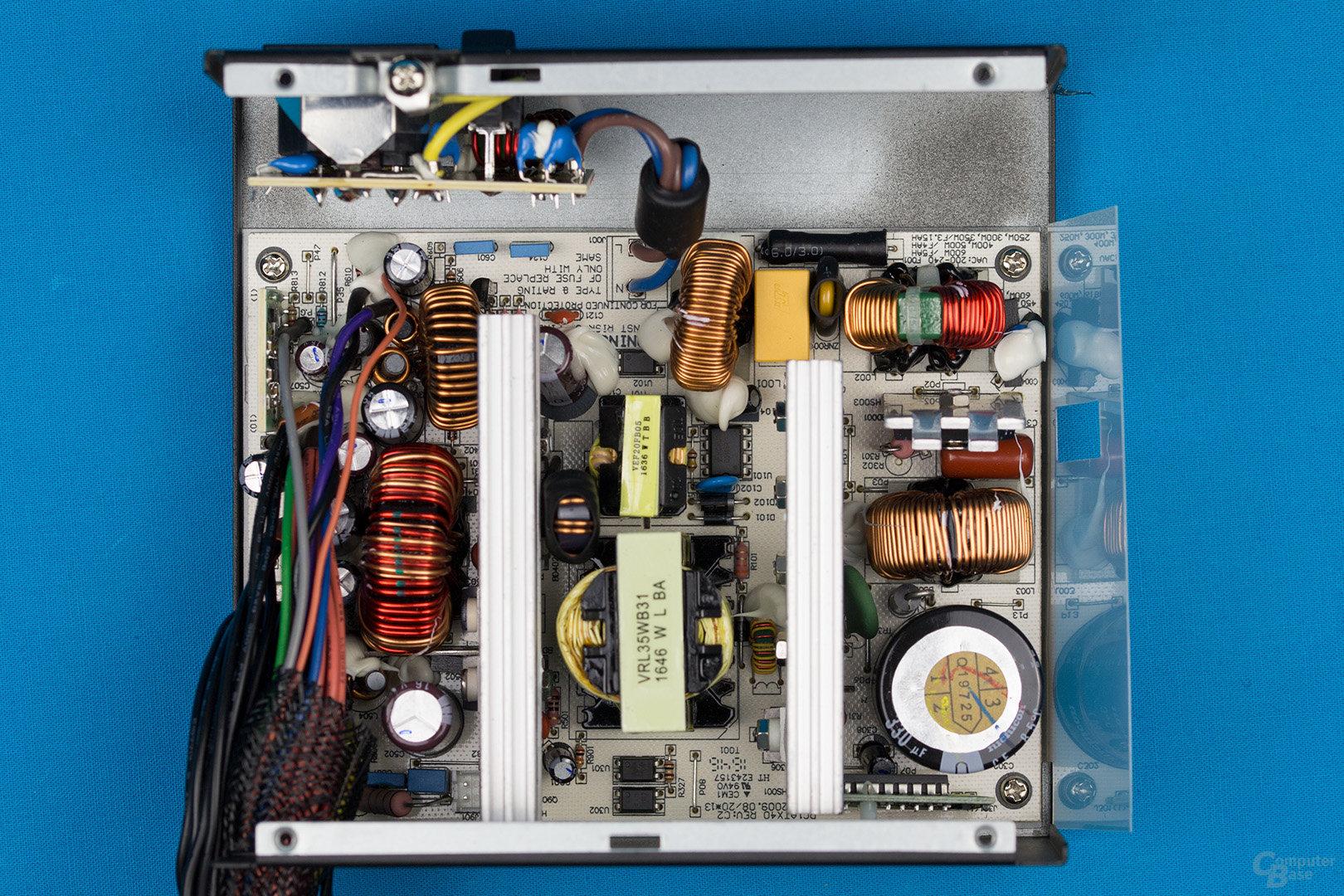 XFX XT500 (zweite Revision) – Überblick Elektronik
