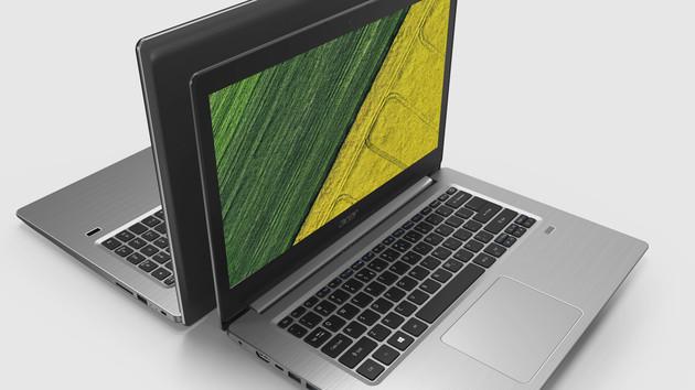 Acer Swift 1 und 3: Schlanke Notebooks mit Kaby Lake und dGPU