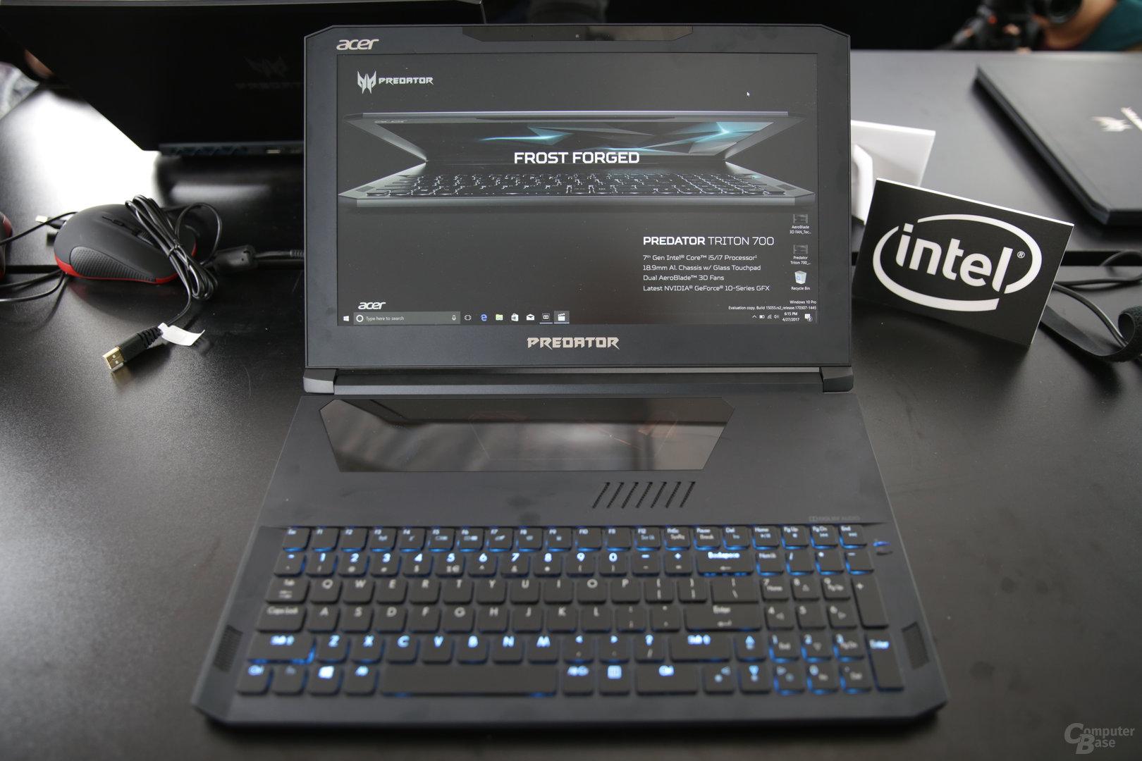 Acer Predator Triton 700 mit i7 und GTX 1080