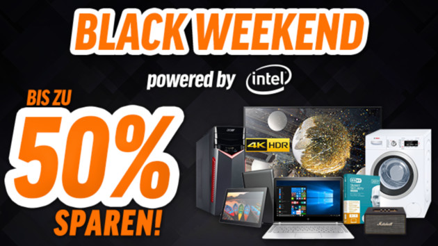 Aktion: Notebooksbilliger startet Black Weekend mit Rabatten