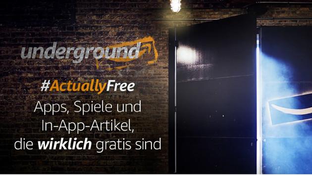 Amazon Underground: Programm für kostenlose Apps wird eingestellt