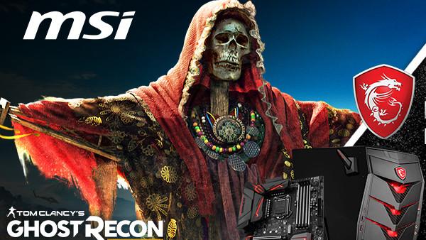 MSI-Aktion: Mainboards und PCs mit Ghost Recon Wildlands