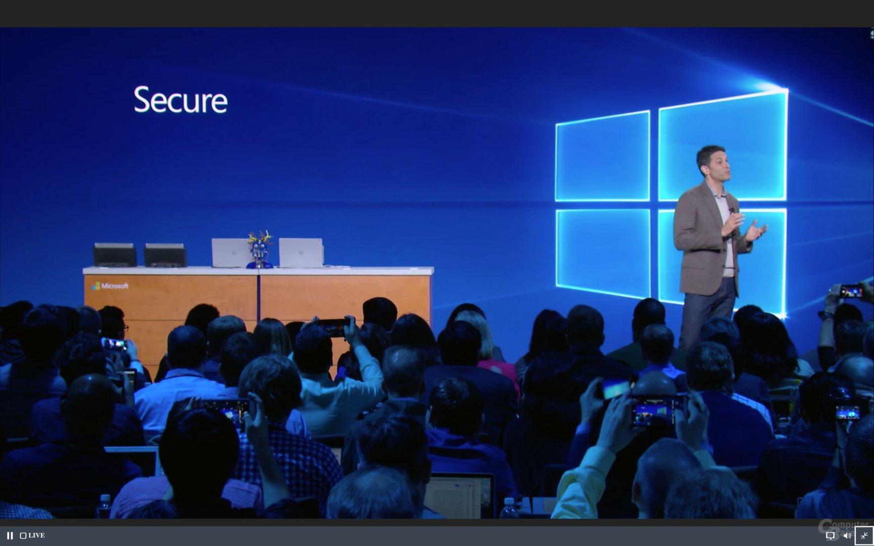 Windows 10 S steht für - Secure