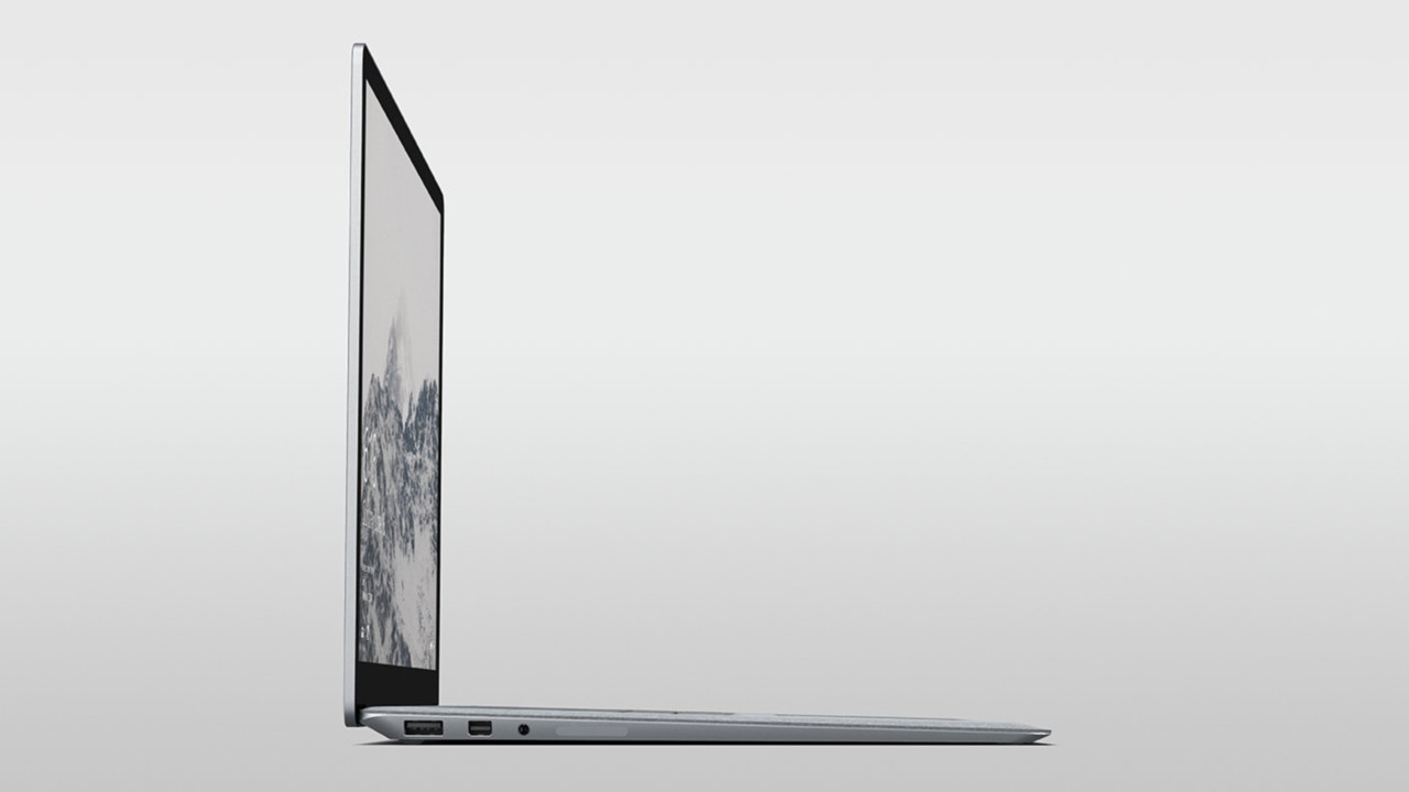 microsoft surface laptop mit windows 10 s und 14 5. Black Bedroom Furniture Sets. Home Design Ideas