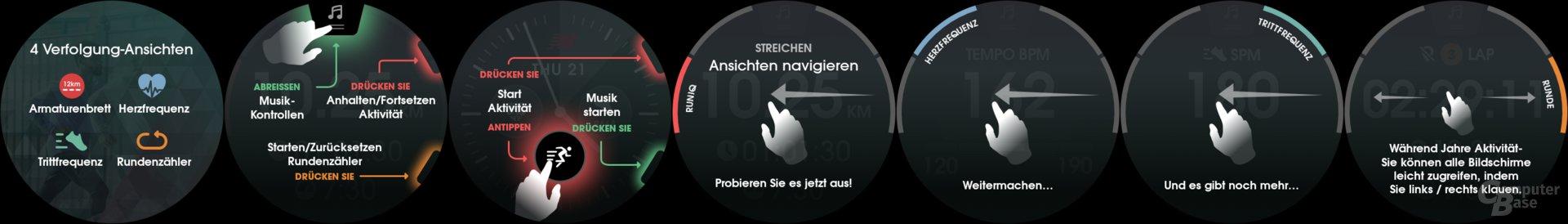 Strava-App-Übersicht