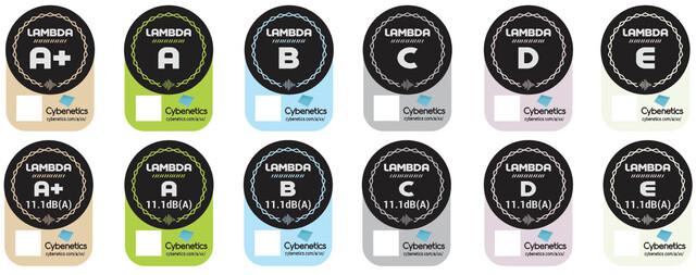 Lambda-Logos mit QR-Code-Platzhalter