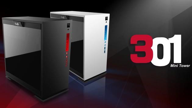 In Win 301: Kleiner Micro-ATX-Ableger im Glas- und Wabendesign