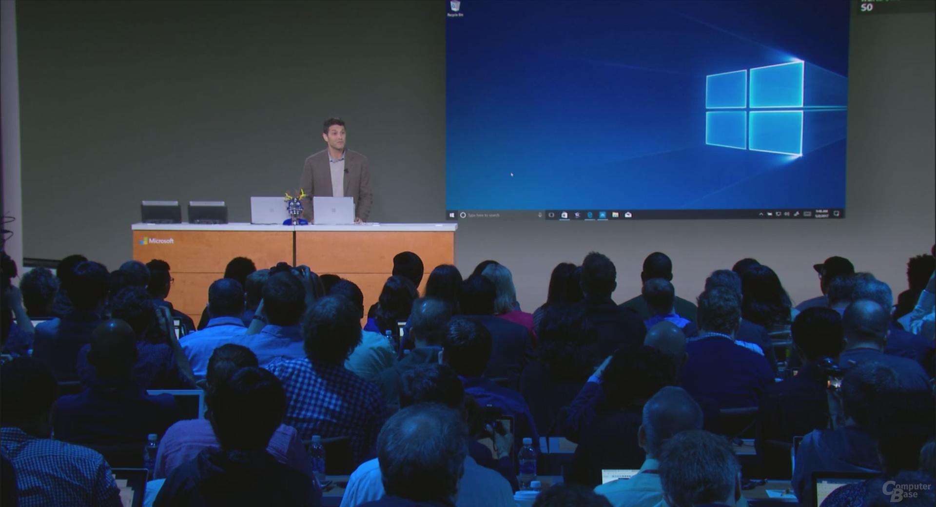Neues Hintergrundbild für Windows 10 S