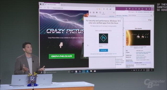 Apps können nur noch aus dem Microsoft Store ausgeführt werden