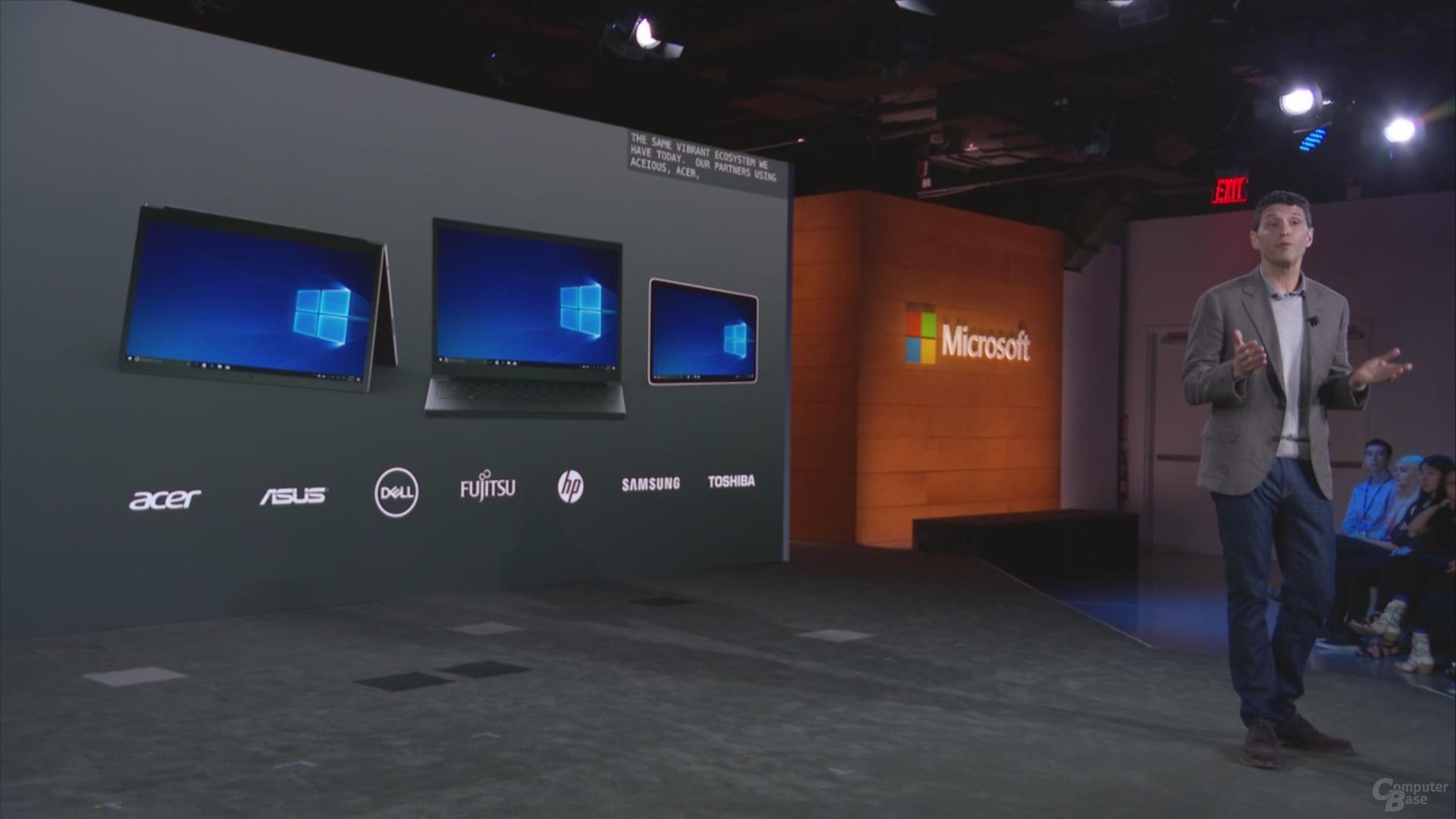 Windows 10 S startet bei vielen OEMs ab 189 US-Dollar