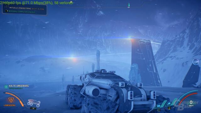 Mass Effect: Andromeda erreichte Bandbreiten-Peaks von bis zu 90 Mbit/s