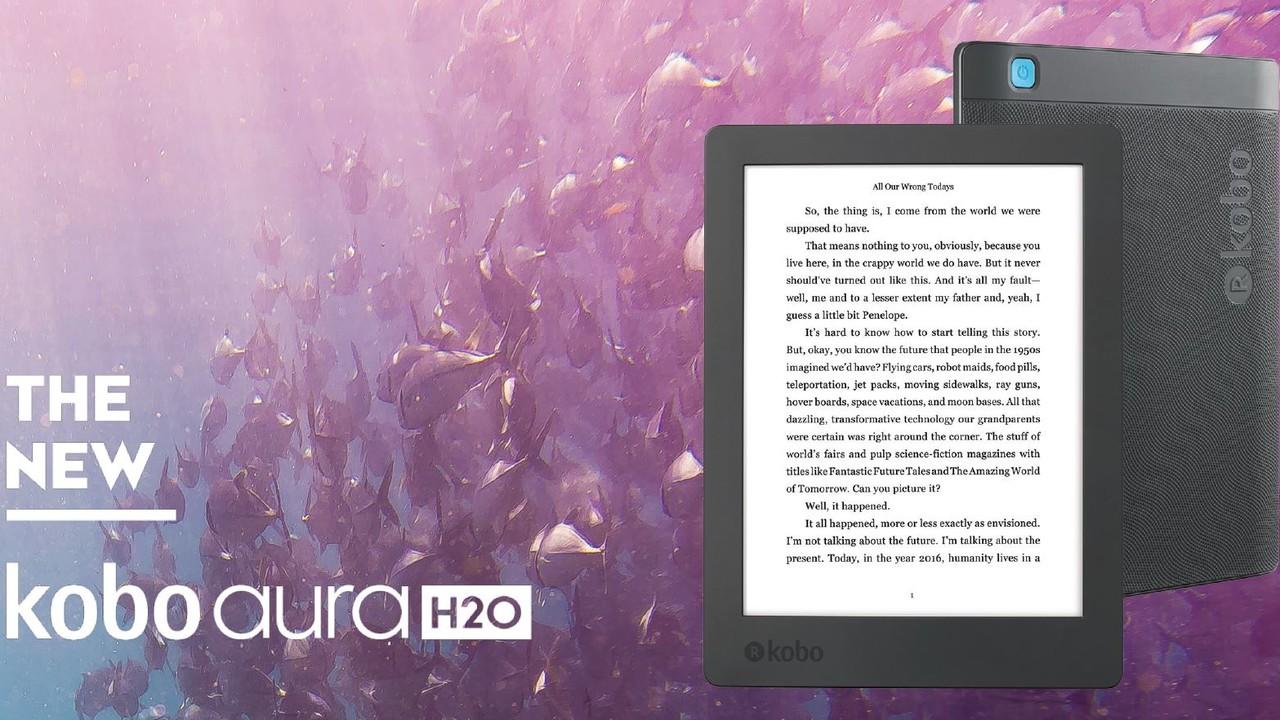 Kobo Aura H2O (2017): Rakuten stellt neuen E-Book-Reader vor