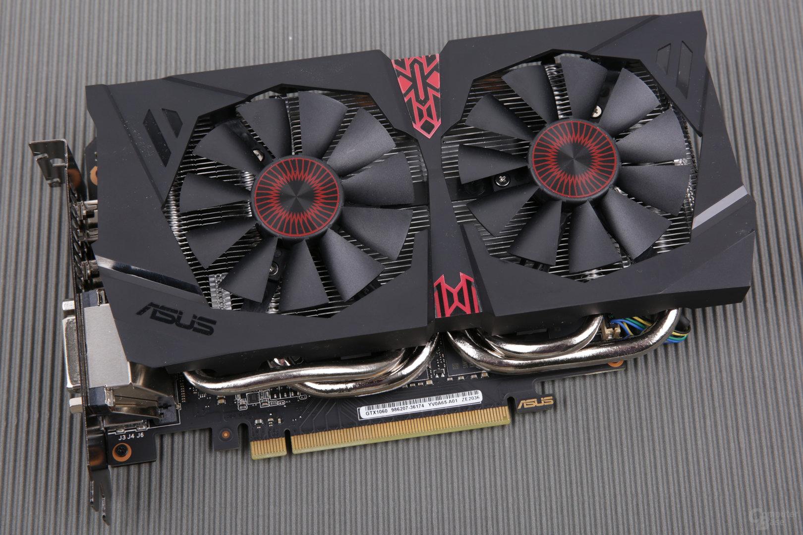 Asus GeForce GTX 1060 9 Gbps