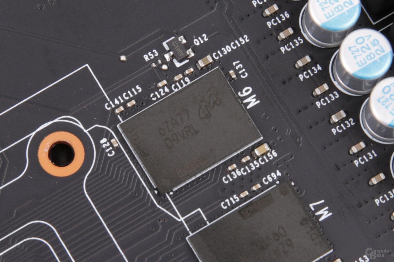 Micron GDDR5X mit 11 Gbps